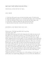 HẸN BẠN TRÊN ĐỈNH THÀNH CÔNG-PHẦN 2-CHƯƠNG 3 doc