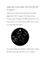 Apple đưa ra bản update 10.5.3 cho Mac OS X ppsx