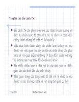 NHỮNG VẤN ĐỀ QUẢN TRỊ CƠ BẢN TRONG THỰC THI CHIẾN LƯỢC part 2 pdf