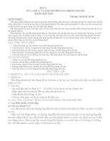 BÀI 6 SỮA CHỮA VÀ BẢO DƯỠNG DẪN ĐỘNG PHANH BẰNG KHÍ NÉN doc