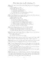 Bài tập chương I - Xác suất thống kê pot