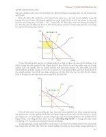 Giáo trình kinh tế học vi mô - Chương 7: Cạnh tranh không hoàn hảo QUYẾT ĐỊNH SẢN XUẤT ppsx