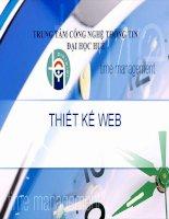 Bài giảng:Thiết kế web bằng Frontpage ppt