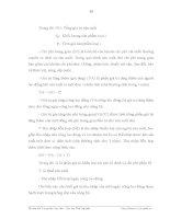 Luận văn : THỰC TRẠNG VÀ NHỮNG GIẢI PHÁP CHỦ YẾU NHẰM PHÁT TRIỂN SẢN XUẤT CHÈ TẠI THÀNH PHỐ THÁI NGUYÊN part 3 pps