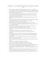 Câu hỏi trò chơi Rung Chuông Vàng - Phần 11 potx