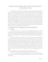 CHƢƠNG II. CÔNG NGHỆ NUÔI CẤY MÔ VÀ TẾ BÀO THỰC VẬT – NHÂN GIỐNG IN VITRO pdf