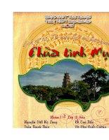 Tìm hiểu lịch sử địa phương - Chùa Linh Mụ (Thiên Mụ) pptx