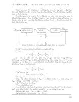 [Đồ Án] Thiết Kế Máy Phát 3 Pha - Hệ Thống Ổn Định Cho Máy Phát phần 10 pdf