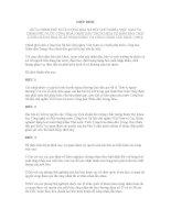 HIỆP ĐỊNH GIỮA CHÍNH PHỦ NƯỚC CỘNG HOÀ XÃ HỘI CHỦ NGHĨA VIỆT NAM VÀ CHÍNH PHỦ NƯỚC CỘNG HOÀ NHÂN DÂN TRUNG HOA VỀ ĐẢM BẢO CHẤT LƯỢNG HÀNG HOÁ XUẤT NHẬP KHẨU VÀ CÔNG NHẬN LẪN NHAU (1994) potx