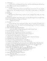 Câu hỏi trò chơi Rung Chuông Vàng - Phần 18 ppt