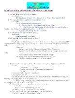 Bài tập ôn thi môn tiếng anh pps