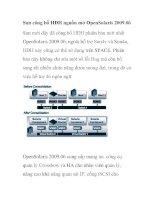 Sun công bố HĐH nguồn mở OpenSolaris 2009.06 potx