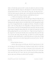 Luận văn :T HỰC TRẠNG VÀ MỘT SỐ GIẢI PHÁP NHẰM PHÁT TRIỂN NGÀNH NÔNG LÂM NGHIỆP THUỶ SẢN TỈNH VĨNH PHÚC part 5 ppsx