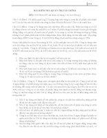 Tổng hợp các bài kiểm tra  lời giải môn quản trị hành chính