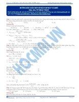 Hướng dẫn các phương pháp giải nhanh hóa học của Vũ Khắc Ngọc