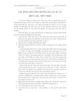 Giáo trình đánh giá tác động môi trường ( PGS.TS. Hoàng Hư ) - Chương 3 pdf
