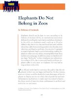 Zoos and Animal Welfare Phần 3 pps