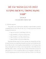 """ĐỀ TÀI """"ĐÁNH GIÁ VỀ CHẤT LƯỢNG DỊCH VỤ TRONG MẠNG VOIP"""" CHƯƠNG II_3 docx"""