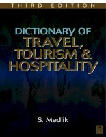 Dictionary of Travel, Tourism and Hospitality Part 1 ppt