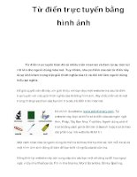 Từ điển trực tuyến bằng hình ảnh potx