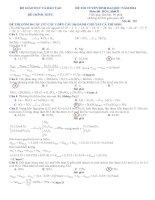 Giải chi tiết đề thi hóa khối b 2014
