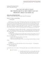 BÀI TẬP LỚN MÔN PTTKHT: HỆ THỐNG QUẢN LÝ BƯU ĐIỆN TẠI CÁC ĐIỂM BƯU ĐIỆN-VĂN HOÁ XÃ pps