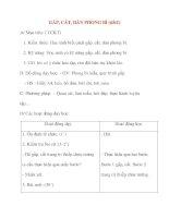 Giáo án lớp 2 môn Thủ Công: GẤP, CẮT, DÁN PHONG BÌ (tiết1) ppt