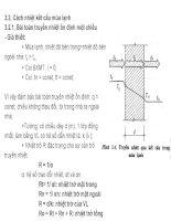 Chương 3: Truyền nhiệt và cách nhiệt của các kết cấu bao che potx