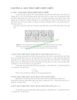 Máy điện - Phần 1 Máy điện một chiều - Chương 4 potx