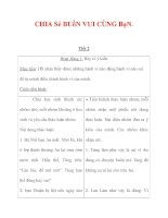 Giáo án môn đạo đức lớp 4 :Tên bài dạy : CHIA Sẻ BUồN VUI CÙNG BạN. pdf