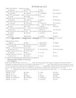 Đề thi thử anh văn 2 pdf