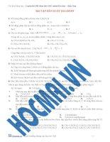 Bài tập dẫn xuất halogen doc
