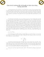 Giáo trình hướng dẫn lý thuyết cơ bản của năng lượng vật chất phần 1 doc
