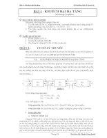 Thí nghiệm điện tử tương tự - Bài 4 pdf