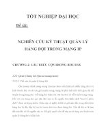 NGHIÊN CỨU KỸ THUẬT QUẢN LÝ HÀNG ĐỢI TRONG MẠNG IP CHƯƠNG 2_2 ppt