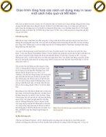 Giáo trình tổng hợp các cách sử dụng máy in laser một cách hiệu quả và tiết kiệm phần 1 pdf