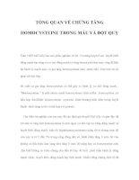 TỔNG QUAN VỀ CHỨNG TĂNG HOMOCYSTEINE TRONG MÁU VÀ ĐỘT QUỴ pptx