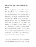 Hướng dẫn sử dụng Cydia cho người sở hữu iPhone pot