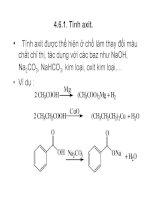 Bài giảng dẫn xuất Hydrocacbone - Axit cacboxylic part 4 pot