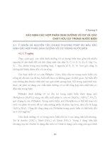 Các phương pháp phân tích hoá học nước biển - Chương 4 ppsx