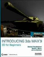 Introducing 3ds Max 9 3D for beginners apr 2007 - part 1 pot