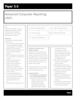 acca test book Advanced Corporate Reporting ppsx