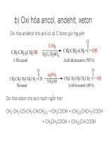 Bài giảng dẫn xuất Hydrocacbone - Axit cacboxylic part 3 pdf