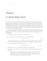 Cơ sở kỹ thuật siêu cao tần - Chương 2 ppsx