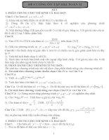 Đề ôn thi toán học kì lớp 12 pdf