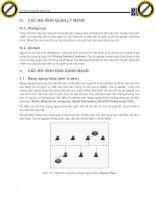 Giáo trình phân tích quy trình ứng dụng những loại mô hình mạng thực tế p2 doc
