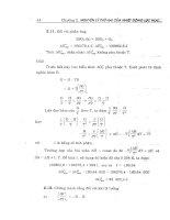Bài tập hóa lý cơ sở part 2 pptx