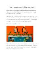 7 lưu ý quan trọng với phòng tắm của trẻ docx