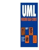 UML WEEKEND CRASH COURSE phần 1 ppt