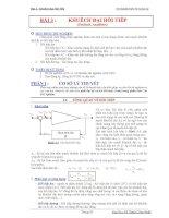 Thí nghiệm điện tử tương tự - Bài 3 potx